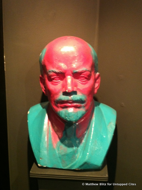 Untapped Cities - At the Wende Museum - Pink Lenin