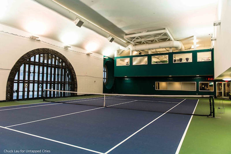Grand Central Vanderbilt tennis court Untapped New York