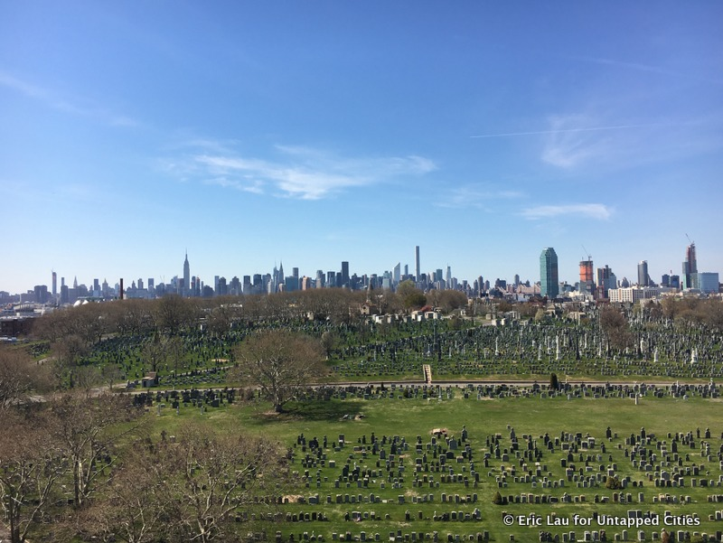 Calvary Cemetery-Kosciuszko Bridge-Queens-Long Island City-Manhattan View-NYC