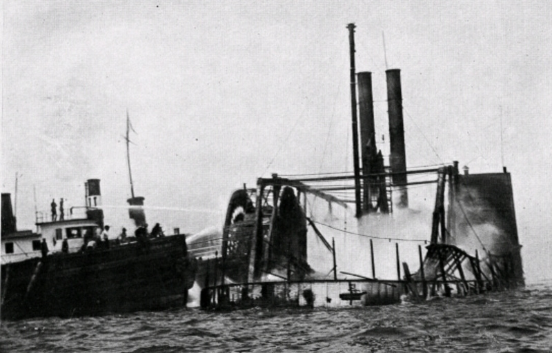 Today in NYC History: The General Slocum Shipwreck off North Brother Island