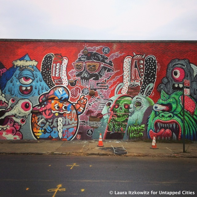 Street art hotspot murals by the bushwick collective in for Art and craft store in brooklyn ny