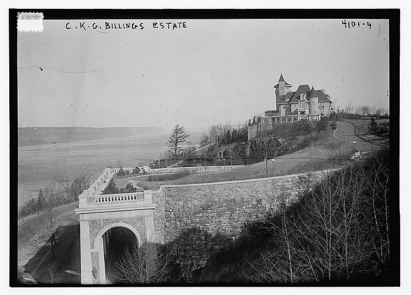 Vintage NYC Photography: C.K.G. Billings' Mansion in Fort Tryon Park
