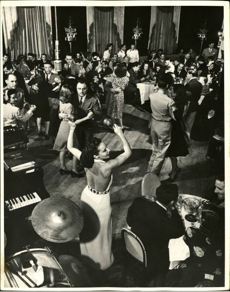 dancing the stork club sherman billingsley new york city vintage nyc photography Untapped cities Sabrina Romano