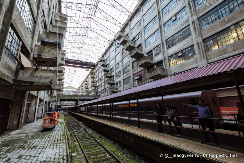 Brooklyn Army Terminal-Untapped Cities Tour-NYCEDC-Atrium-Roof-Annex-NYC-004