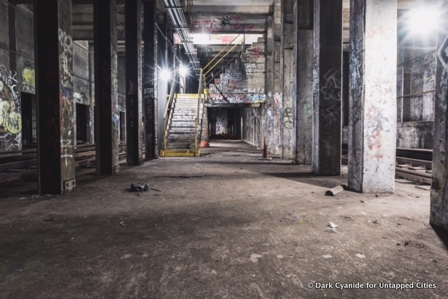 searching for the lost 76th street subway station the