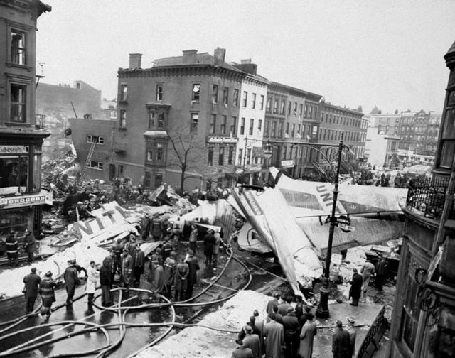 Park Slope Plane Crash-Sterling Place-7th Avenue-Brooklyn-United Airlines-TWA-DC-8-NYC