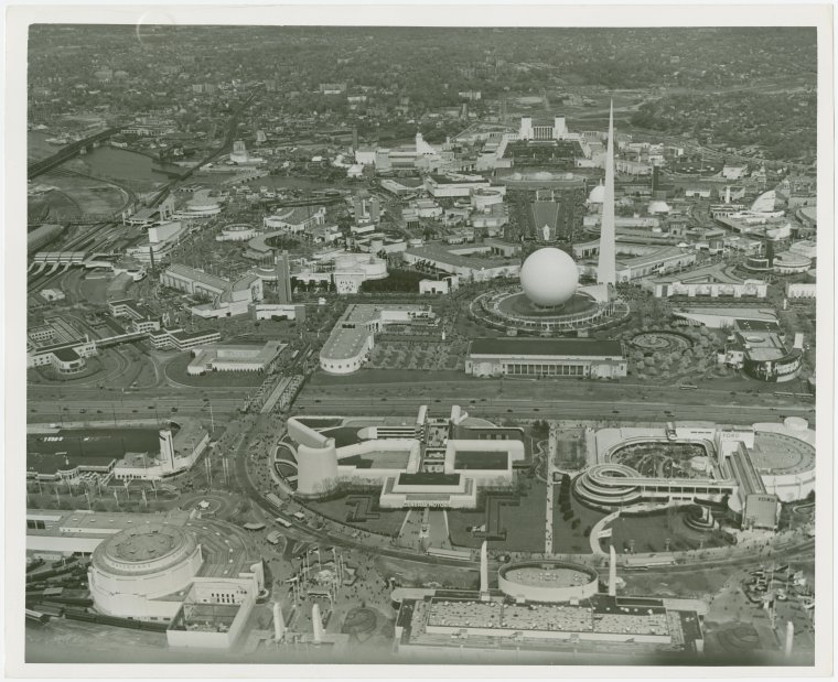 Historic photo of the World's Fair