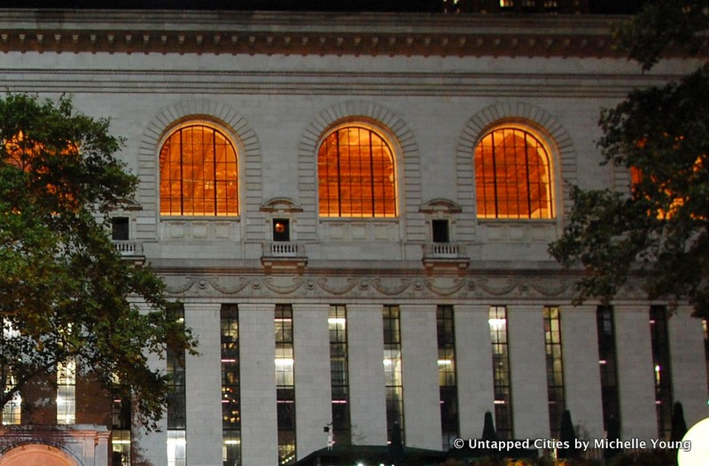 Cities 101: Exploring the Tiny Doors on the New York Public Library Facade at Bryant Park
