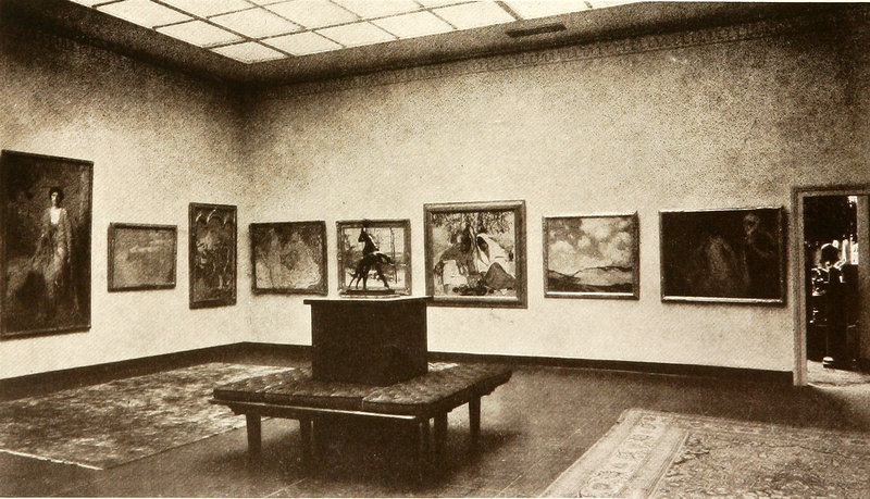 Grand Central School of art gallery